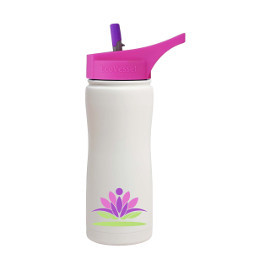 17oz Summit Insulated Water Bottle with Straw