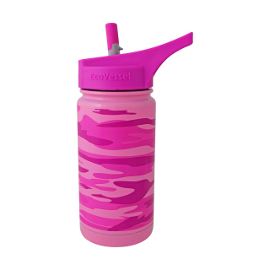 13oz Frost Insulated Water Bottle with Straw