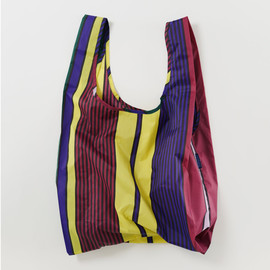 Reusable Shopping Bag, Scarf Stripe