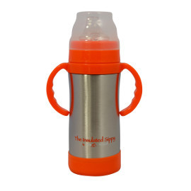 Insulated Stainless Steel Sippy Cup, 10oz