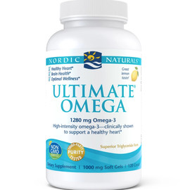 Ultimate Omega Soft Gels, Lemon
