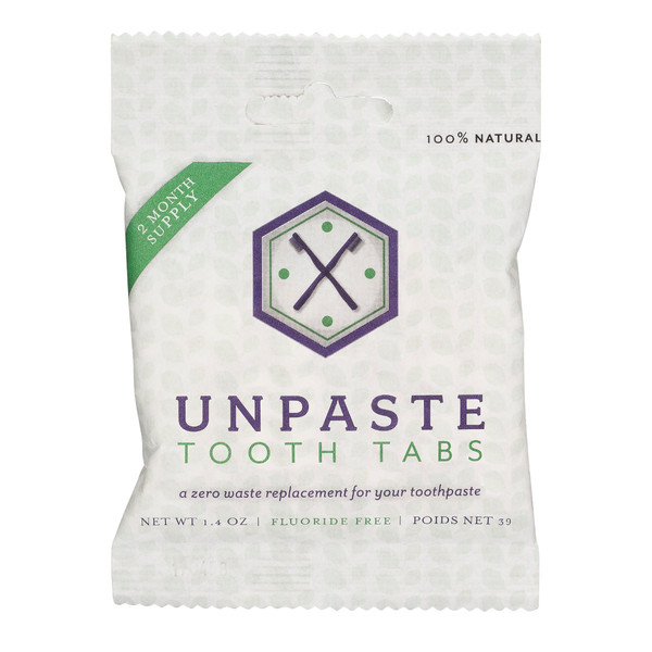 UnPaste Tooth Tablets