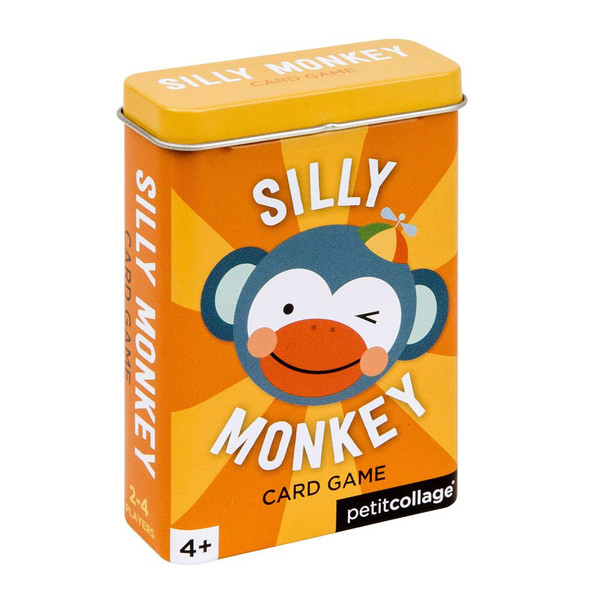 Silly Monkey Card Game in Tin