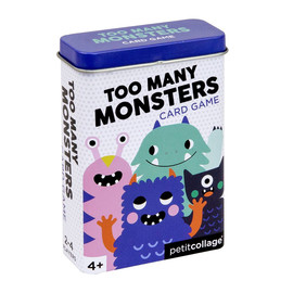 Too Many Monsters Card Game in Tin