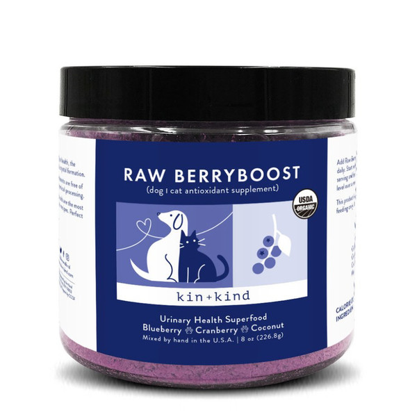 Raw BerryBoost Dog and Cat UTI Support