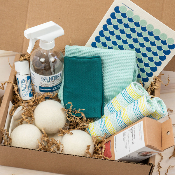 Fresh Start Green Cleaning Gift Box