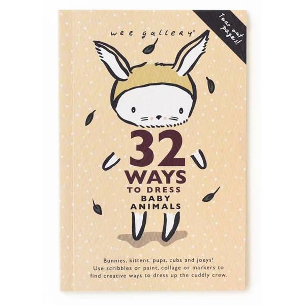 32 Ways to Dress Baby Animals Activity Book