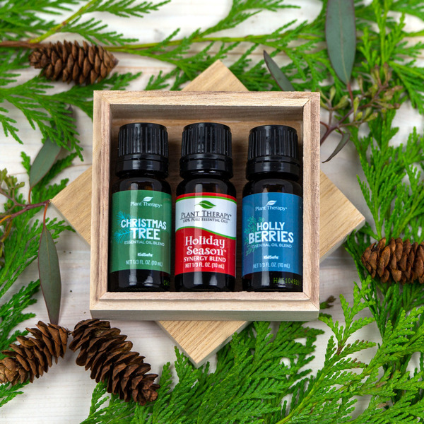 Holiday Blend Essential Oils Set