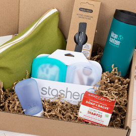 Waste-Free Travel Essentials Gift Box
