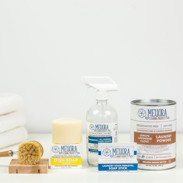 Refillable Zero Waste Cleaning System