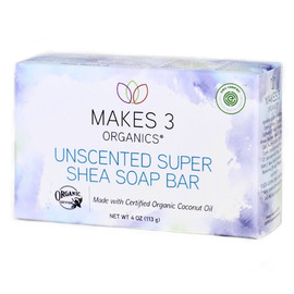 All Natural Soap Bars, Set of 3