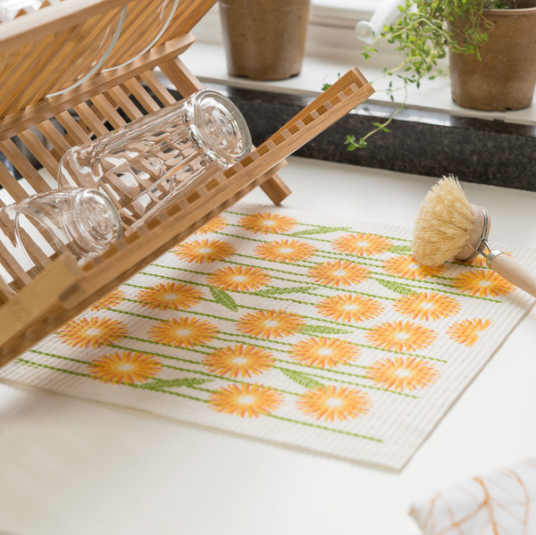 Swedish Drying Mat + Dish Cloth Set