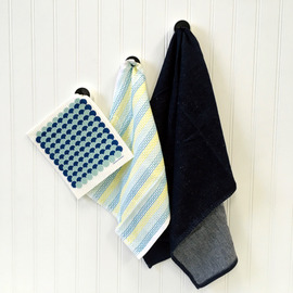 Push-and-Hold Dish Cloth Holder
