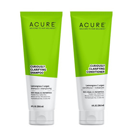 Curiously Clarifying Shampoo + Conditioner Set