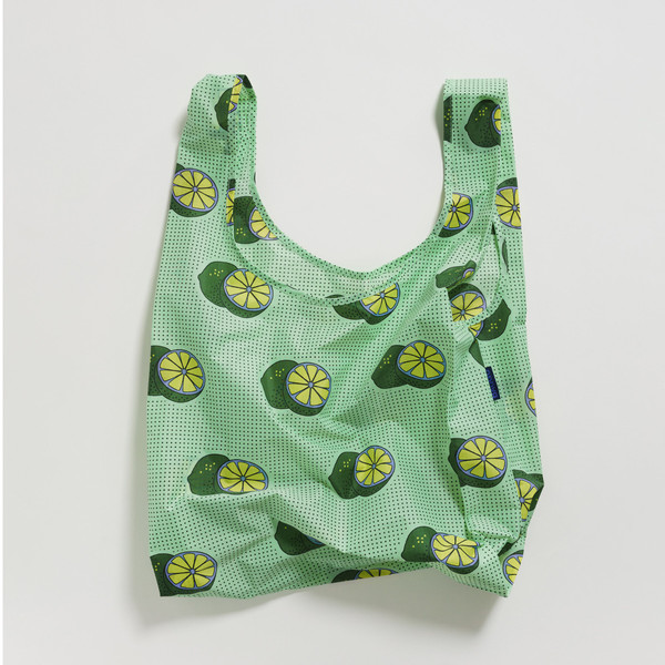 Reusable Shopping Bag, Green Lime