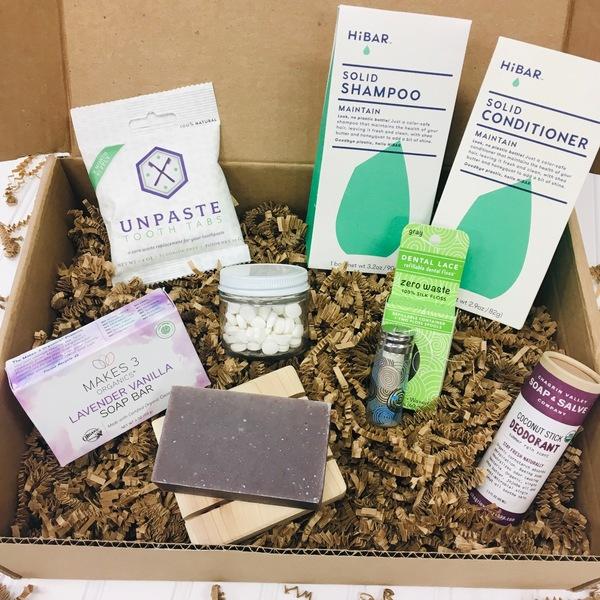 Zero-Waste Body Basics Gift Box