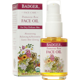 Organic Damascus Rose Antioxidant Face Oil