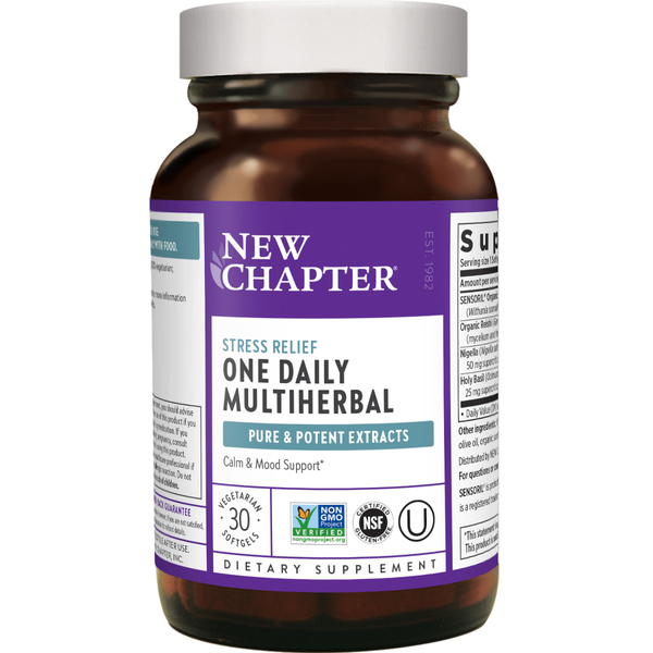 Multiherbal Stress Relief Supplement