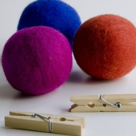 Wool Dryer Balls Colors