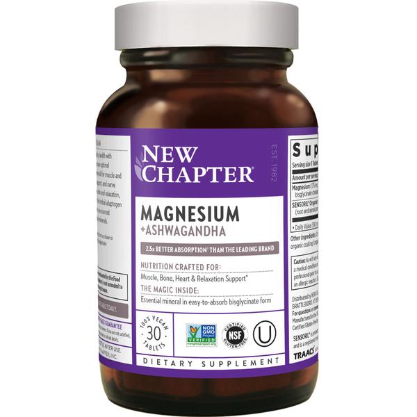 Magnesium + Ashwagandha Tablets