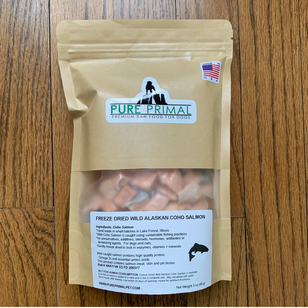 Freeze Dried Salmon for Dogs and Cats