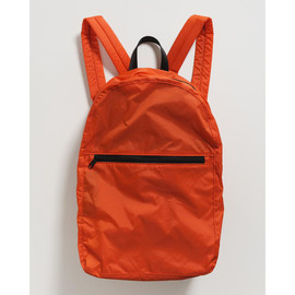 Packable Backpack, Tomato Red