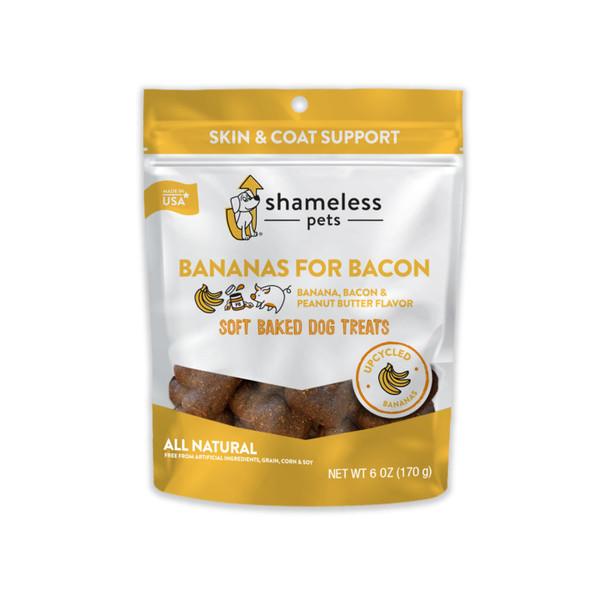 Bananas for Bacon Dog Treats