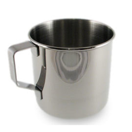 Stainless Steel Mug, 13oz