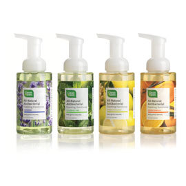 All-Natural Foaming Hand Soap, 4 scents