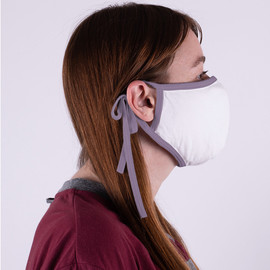 Organic Cotton Face Mask with Trim