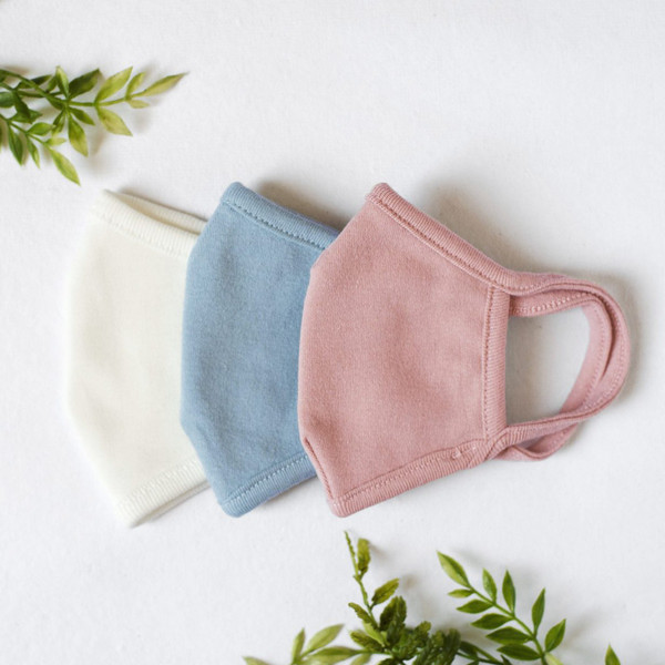 Children's Organic Cotton Jersey Face Mask