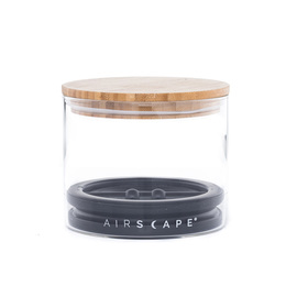 Airscape Glass and Bamboo Storage Canister