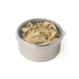Round Stainless Steel & Silicone Food Containers