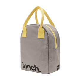 Organic Cotton Zip Lunch Bag