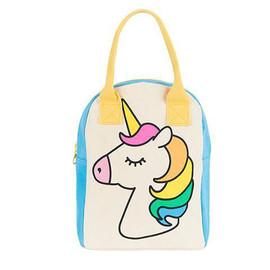 Organic Cotton Zip Lunch Bag