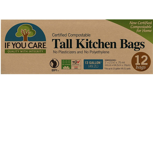 Compostable Tall Kitchen Trash Bags