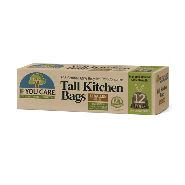 Recycled Tall Kitchen Trash Bags