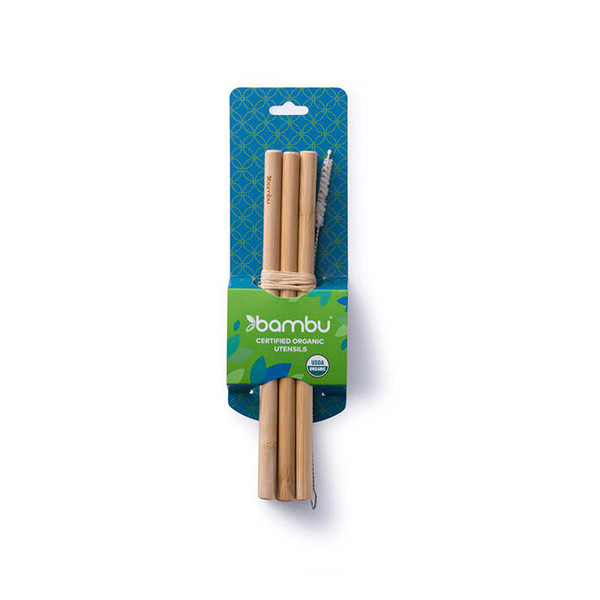 Precision Bamboo Straw Set