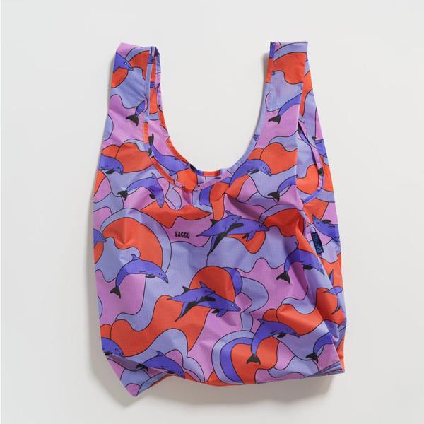 Reusable Shopping Bag, Dolphins