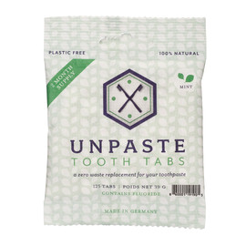 UnPaste Tooth Tablets with Fluoride